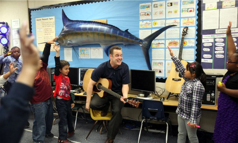 Kids love learning through music.